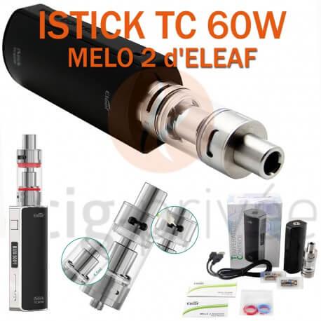 PACK PROMO MINI BOX - KIT ISTICK TC 60W ET MELO 2