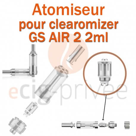 Pack de 5 résistances pour clearomizer GS AIR 2 2ml
