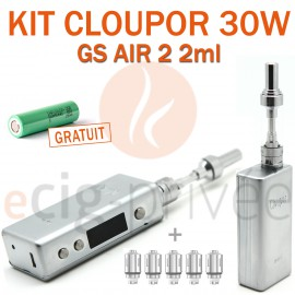 PACK PROMO MINI BOX - CLOUPOR 30W ET GS AIR 2 2ml d'ELEAF