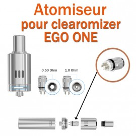 Pack de 5 résistances pour clearomizer EGO ONE