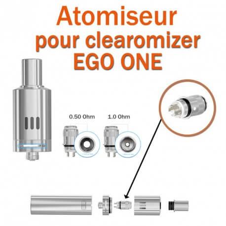 Pack de 5 résistances pour clearomizer EGO ONE