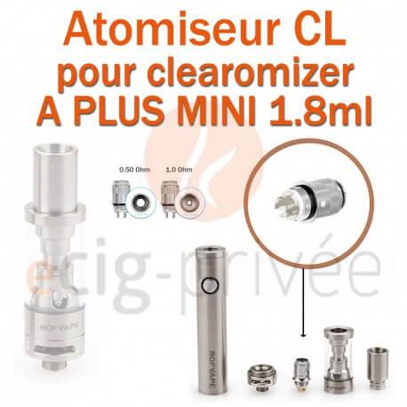 Pack de 5 résistances pour clearomizer A PLUS MINI 1.8ml