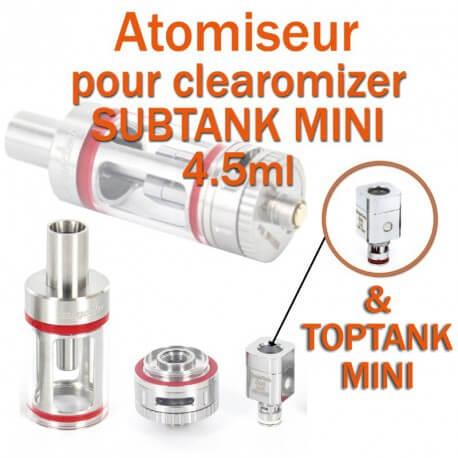 Pack de 5 résistances pour clearomizer SUBTANK MINI 4.5ml