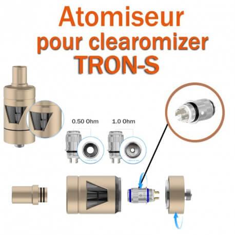 Pack de 5 résistances pour clearomizer TRON-S