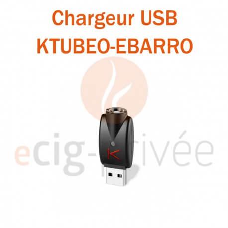 Chargeur USB KTUBEO-EBARRO POUR ECIG AUTOMATIQUE