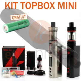 KIT TOPBOX MINI TC 75W ET TOPTANK MINI