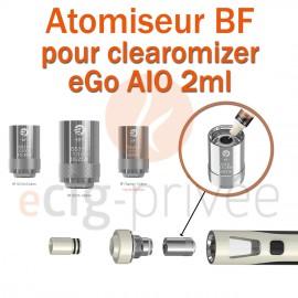Pack de 5 résistances BF SS316 pour clearomizer CUBIS 3.5ml