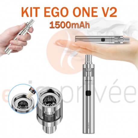 Kit complet EGO ONE V2 1500mAh de JOYETECH