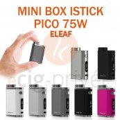 MINI BOX - ISTICK PICO 75W TC d'ELEAF pour e-cigarette