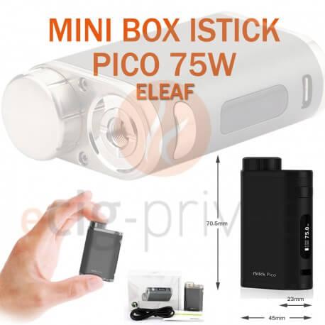 MINI BOX - ISTICK PICO 75W d'ELEAF pour e-cigarette