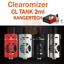 Clearomizer CL TANK 2ml de KANGERTECH pour e-cigarette