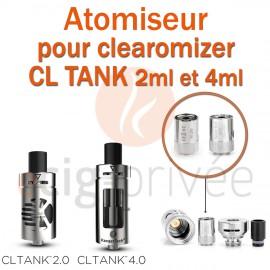 Pack de 5 résistances pour clearomizer CL TANL 2ml et 4ml
