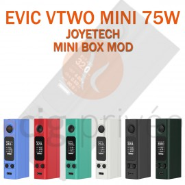MINI BOX - EVIC VTWO MINI 75W de JOYETECH pour e-cigarette