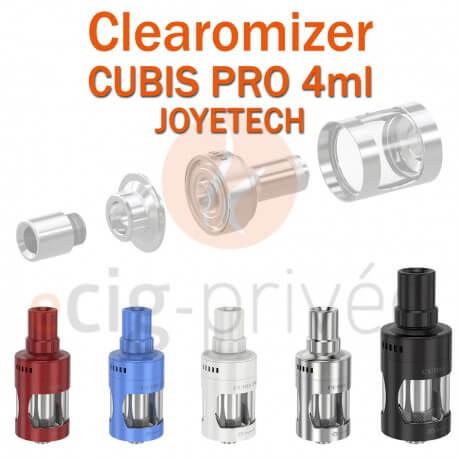 Clearomizer CUBIS PRO de JOYETECH de capacité 4ml pour e-cigarette