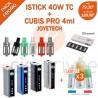 PACK PROMO MINI BOX - ISTICK 40W TC ET CUBIS 3.5ml