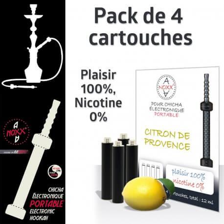 Capsules Parfum Citron de Provence pour Chicha AANOXX®