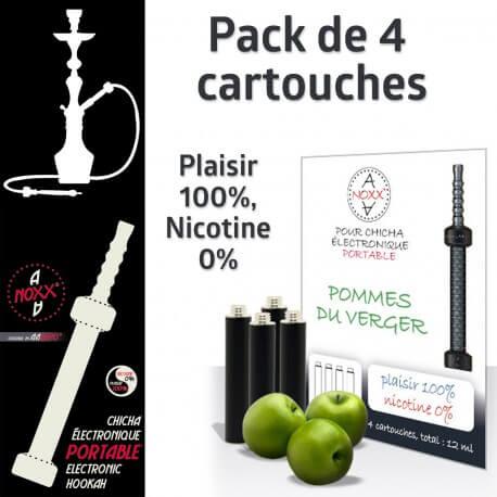 Capsules parfum Pommes du Verger pour Chicha AANOXX®