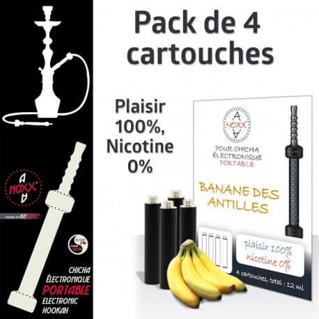 Capsules parfum Banane des Antilles pour Chicha AANOXX®