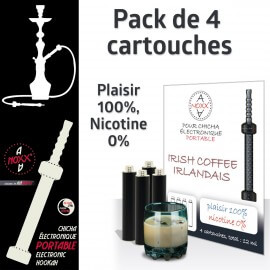Capsules parfum Irish Coffee Irlandais pour Chicha AANOXX®