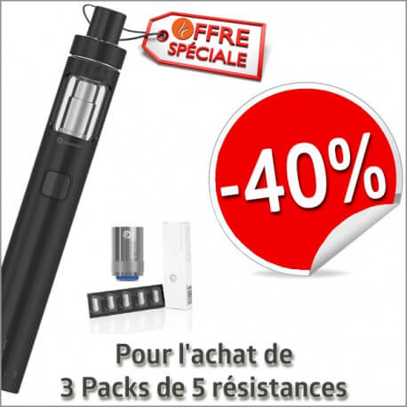 Pack de 5 résistances BVC pour clearomizer ASPIRE NAUTILUS 2ml et 5ml
