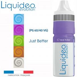 """""""C'REAL KILLER"""" E-liquide saveur GOURMANDE de Liquideo-10ml pour e-cigarette"""