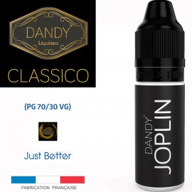 """JOPLIN"" 10ml-E-liquide COLLECTION DANDY de Liquideo pour e-cigarette"