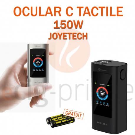MINI BOX - OCULAR C 150W AVEC ÉCRAN TACTILE de JOYETECH pour e-cigarette