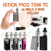 PACK MINI BOX-ISTICK PICO 75W ET MELO 3 MINI