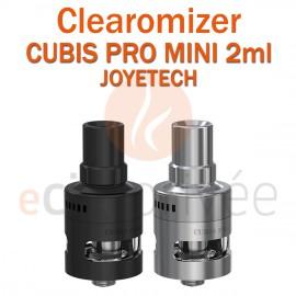Clearomizer CUBIS PRO MINI de JOYETECH de capacité 2ml pour e-cigarette