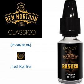 """""""RANGER"""" BY BEN NORTHON 10l-E-liquide COLLECTION DANDY de Liquideo pour e-cigarette"""