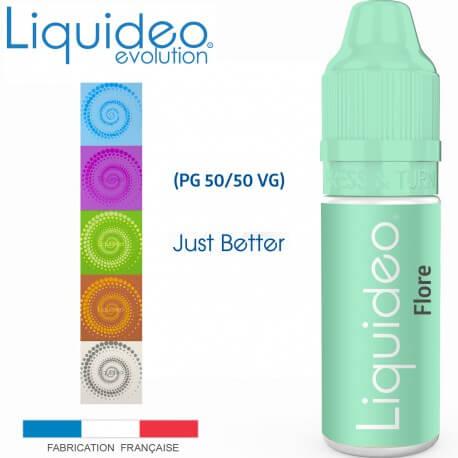"""""""FLORE"""" E-liquide saveur FRUITÉE de Liquideo-10ml pour e-cigarette"""