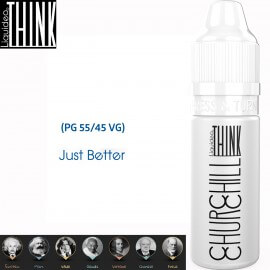 "Saveur ""CHURCHILL"" 10ml-E-liquide COLLECTION THINK de Liquideo pour e-cigarette"