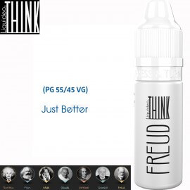 "Saveur ""FREUD"" 10ml-E-liquide COLLECTION THINK de Liquideo pour e-cigarette"