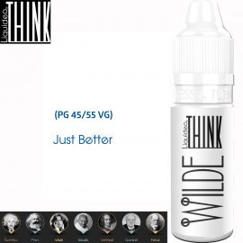 "Saveur ""WILDE"" 10ml-E-liquide COLLECTION THINK de Liquideo pour e-cigarette"
