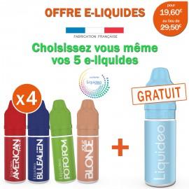 OFFRE PROMO EVOLUTION-4 e-liquides achetés égale 1 e-liquide gratuit