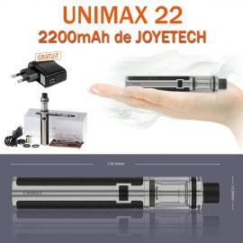 Kit complet UNIMAX 22 2200mAh de JOYETECH