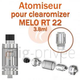 Pack de 5 résistances ER pour clearomizer MELO RT 22
