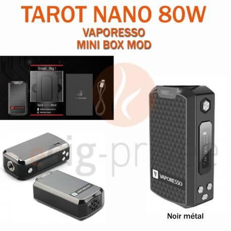 MINI BOX - TAROT NANO 80W de VAPORESSO pour e-cigarette