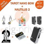 PACK PROMO-MINI BOX TAROT NANO 80W ET NAUTILUS 2