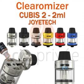 Clearomizer CUBIS 2 de JOYETECH de capacité 2ml pour e-cigarette