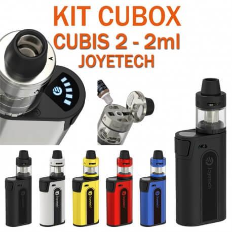 KIT CUBOX 3000mAh ET CUBIS 2-2ml de JOYETECH