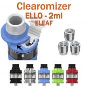 Clearomizer ELLO d'ELEAF de capacité 2ml pour e-cigarette