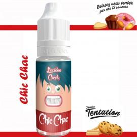 """""""Chic Chac"""" E-liquide TENTATION de Liquideo-10ml pour e-cigarette"""