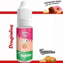 """""""Druginbus"""" E-liquide TENTATION de Liquideo-10ml pour e-cigarette"""