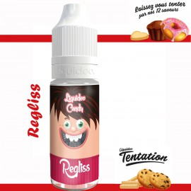 "Regliss" E-liquide TENTATION de Liquideo-10ml pour e-cigarette