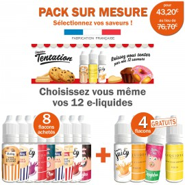 Pack PROMO EVOLUTION-8 e-liquides achetés égale 4 e-liquides gratuits