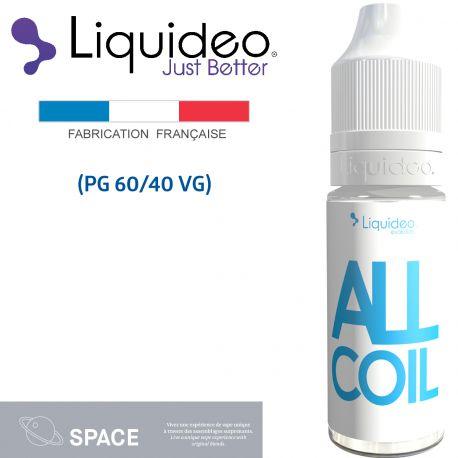 """""""ALL COIL"""" E-liquide saveur SPACE de Liquideo-10ml pour e-cigarette"""