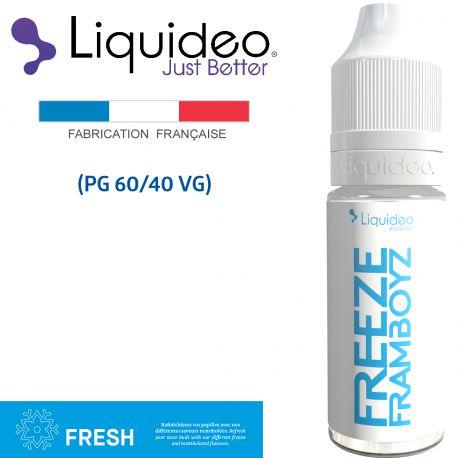 """""""FREEZE FRAMBOYZ"""" E-liquide saveur FRESH de Liquideo-10ml pour e-cigarette"""