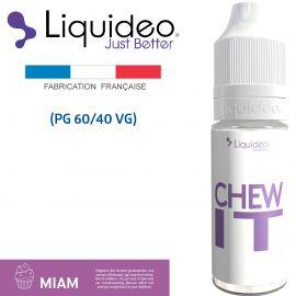 """""""CHEW IT"""" E-liquide saveur GOURMANDE de Liquideo-10ml pour e-cigarette"""