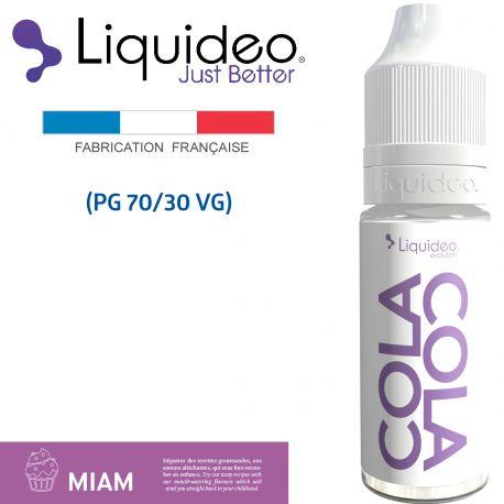 """""""Cola Cola"""" E-liquide saveur GOURMANDE de Liquideo-10ml pour e-cigarette"""